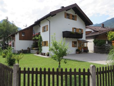 Photo for The apartment is located in the beautiful Werdenfelser country at the Zugspitze.