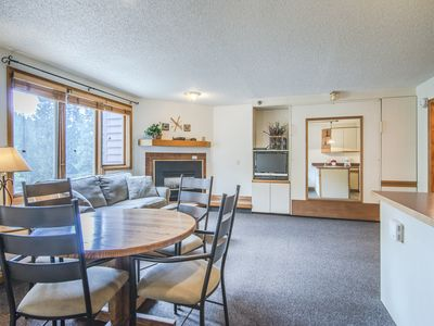 Photo for 1 bedroom condo at Iron Horse Resort ski in ski out sleeps 6