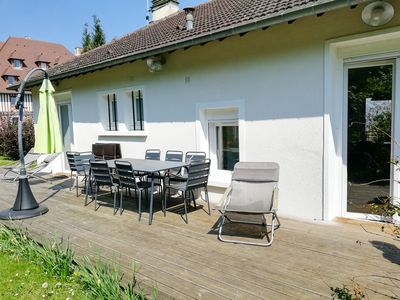 Photo for Deauville - Family house - 10 people - 5 min from downtown and the sea