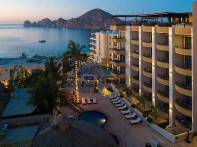 Photo for Luxury two bedroom executive suite at the beach front Cabo Villa's Beach Resort