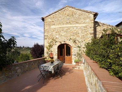 Photo for CHARMING APARTMENT in Barberino Val d'Elsa (Chianti Area) with Pool & Wifi. **Up to $-375 USD off - limited time** We respond 24/7