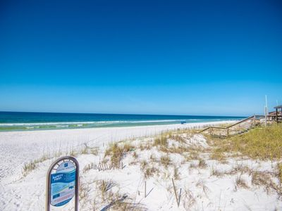 Photo for Gulf/Lake View townhome, community pool, bikes, dock, in Santa Rosa Beach