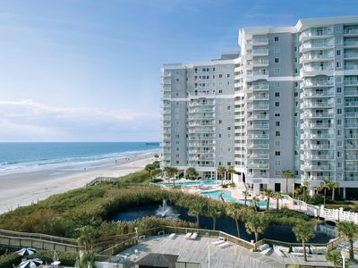Photo for Beachfront Myrtle Beach 1BR SeaWatch Villa + Amenities