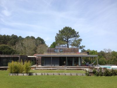 Photo for Villa Moutic 200m2 with swimming pool, panoramic terrace large garden