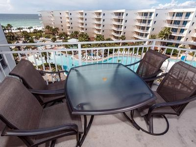 Photo for Aug 8-15 Available!  A614 on Top Floor, 2BR+Bunk Rm, Free Beach Set, pool view