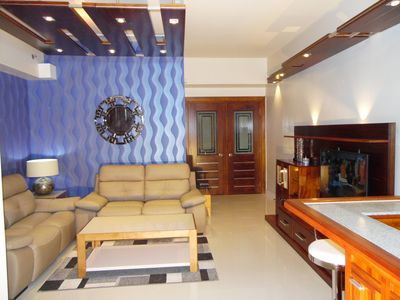 Photo for New Luxury 2 Br Condo With Hotel Amenities Across Ayala Mall / Terraces
