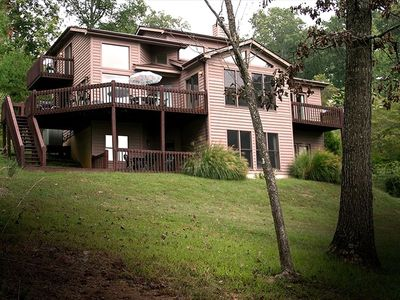 Photo for Deerfield Resort Lakeview Home with 7 Person Hot Tub, View of Norris Lake