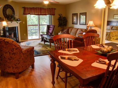 Photo for 3 BR Condo • Sleeps 8 • Ceiling Fans • Rockers on Balcony