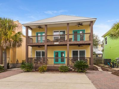 Photo for 15% OFF Spring Special!! 30A Beach Getaway -Short Walk to Beach-Community Pool-Spacious Balconies!