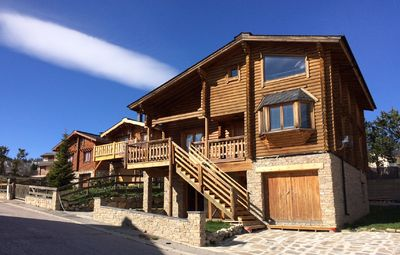 Photo for Scandinavian log cabin for rent in Font-Romeu