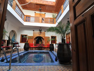 Photo for Riad Kalinka with pool in Marrakech