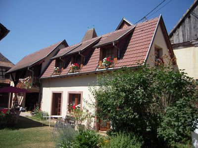 Photo for Two guest rooms in the heart of an Alsatian medieval city.