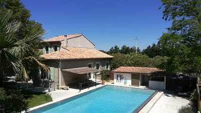 Photo for In Provence, House of Master with vast swimming pool in Mas of character