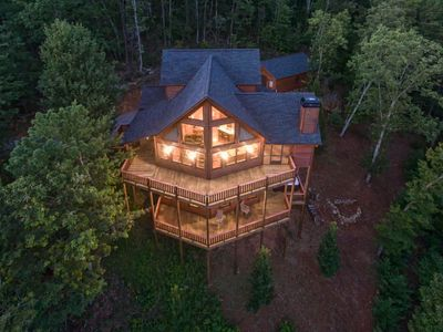 Photo for Exquisite mountain view at this vacation rental in the Blue Ridge Mountains.