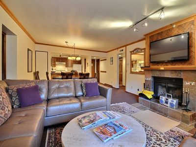 Photo for LOCATION, LOCATION - Main Street,Town Lift, Pool, Hot tub, Wood Fireplace, A/C