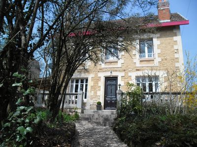 Photo for CENTRAL SARLAT,  DETACHED HOUSE,  HEATED POOL, PARKING, WiFI, EXCELLENT REVIEWS