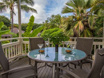 Photo for Premier Townhome: Full A/C and X-Large Lanai, Ocean Close in the Heart of Poipu
