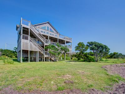 Photo for Sound Bound - Stunning 4 Bedroom SoundFront Home in Waves