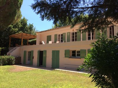 Photo for Very nice family villa - Carles area - 800 m from downtown