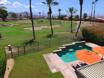 Photo for A 'Golfer's Paradise' Double Fairway & Mountain Views With Pool & Spa!