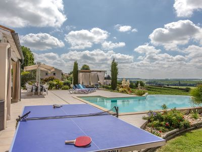 Photo for Quiet family villa with panoramic views