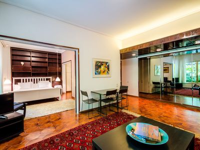 Photo for Vintage Downtown flat, Newly renovated, 2 min walk to Subway