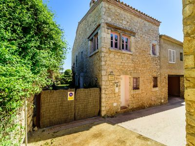 Photo for Costabravaforrent Llimona, terraced house for 6, 100 meters from the beach