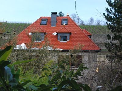 Photo for Individual living in the Tonhaus - bright DG apartment with a view of the vineyards