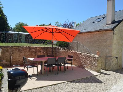 Photo for Charming house, 3 stars *** 6 people, 3 minutes from Arromanches and the beaches