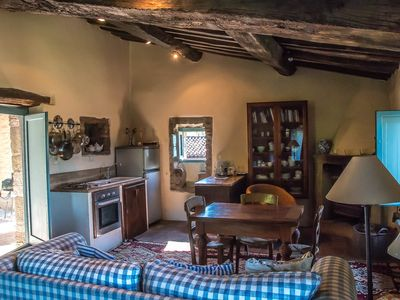 Photo for Il Molino - Beautiful studio apartment in the Umbrian mountains