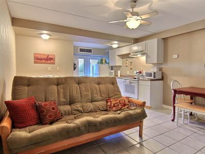 Photo for NEW! Well-furnished, waterfront studio w/ pools! Great for couples!