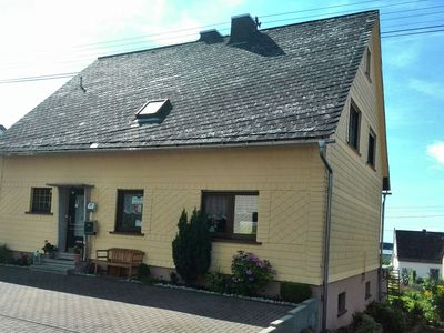 Photo for Beautiful apartment in Westerwald with garden, private terrace and pond