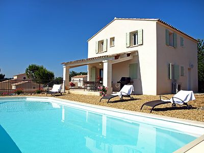 Photo for Saint-Saturnin-les-Apt Holiday Home, Sleeps 8 with Pool and Free WiFi