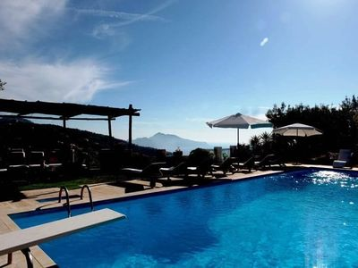 Photo for 8 bedroom Villa, sleeps 16 in Schiazzano with Pool, Air Con and WiFi