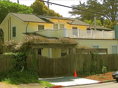 Photo for Historic Bolinas Home and Cottage at the Beach. Best Location!