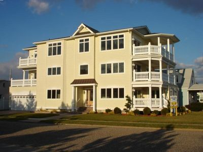 Photo for Ocean Views, 3 Story, New Home with Elevator, Steps to Beach