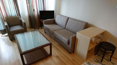 Photo for Modern studio flat on the first floor of an elegant building in the city center