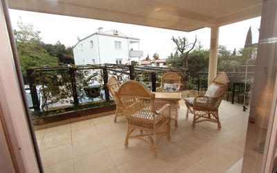 Photo for Apartment 1.4 km from the center of Rovinj with Air conditioning, Parking, Balcony (523556)