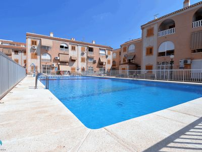 Photo for Fully new refurbished flat with 3 bedrooms and pool in Playa los Naufragos