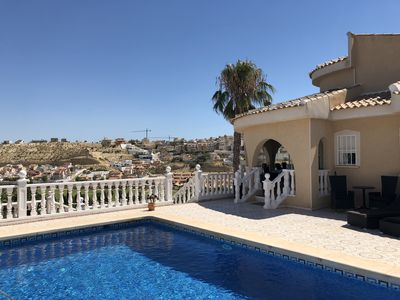 Photo for Newly renovated villa with beautiful view of the La Marquesa Golf Course