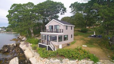 Photo for Waterfront Island Getaway w/two cottages perfect for Multiple or Large Families