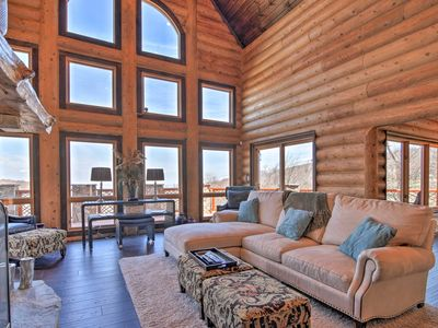 Photo for Luxury Beech Mountain Ski-In/Ski-Out Cabin w/Views