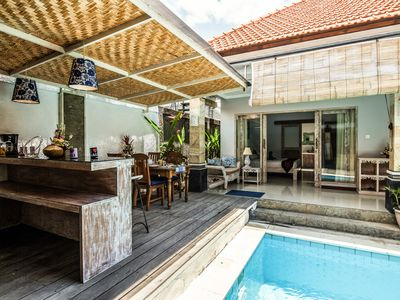 Photo for SEMINYAK  NEW  3BR & Pool  HOT TUBS