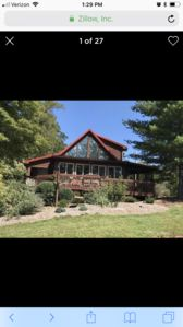 Photo for Home Sweet Log Cabin! Private mountaintop escape with beautiful views! Tranquil!