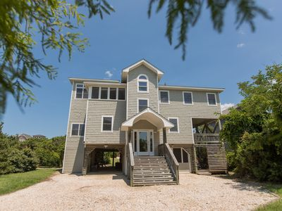Photo for Semi Oceanfront - Sanderling Community in Duck, Amazing Views, Pet Friendly,