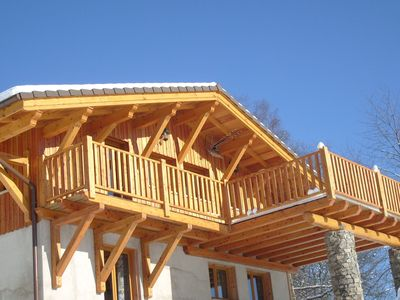 Photo for Nice chalet with a dishwasher, in the High Vosges