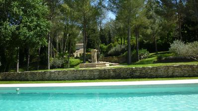 Photo for charming house with private pool and beautiful pool house
