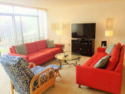Photo for Firethorn 514 - 2 Bedroom Condo with Private Beach with lounge chairs & umbrella provided, 2 Pools, Fitness Center and Tennis Courts.