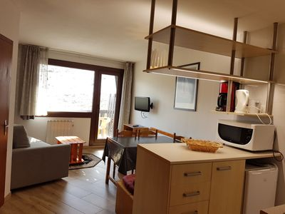Photo for apartment for 5 persons, (41m2) balcony with view on the mountain and at 10 mts from ski s