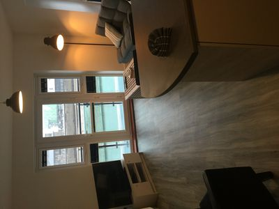 Photo for New/Modern river facing ground floor apartment with balcony